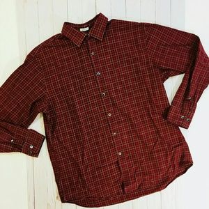 J. Crew holiday button up
